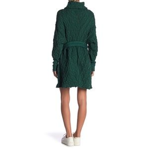 Free People Sweaters - FREE PEOPLE For The Love Of Cables Sweater Dress